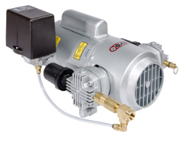 Gast 4LCB-46S-M450GX FREE  SHIPPING. Oilless Piston Air Compressor for Dry Sprinkler Systems.