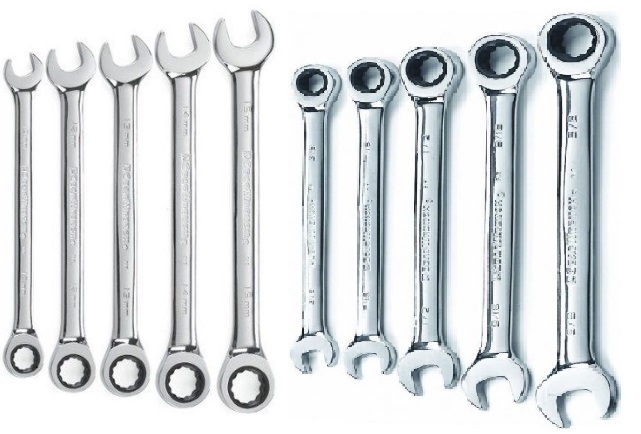 GearWrench 10 Piece Ratcheting Wrench Set